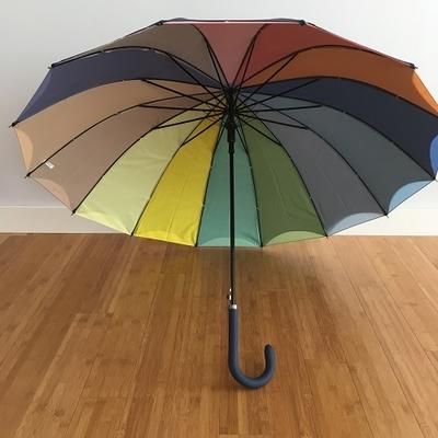 Parapluie coloré à 14 baleines