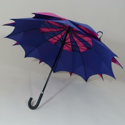 Parapluie D'Amazoni violet et bleu