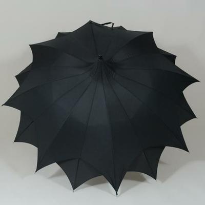 Grand parapluie noir D'Amazoni