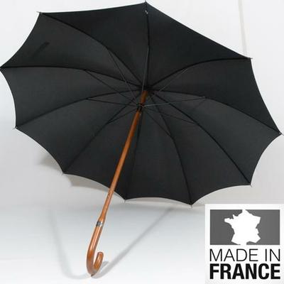 Grand parapluie noir Classique