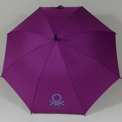 Parapluie automatique violet Benetton