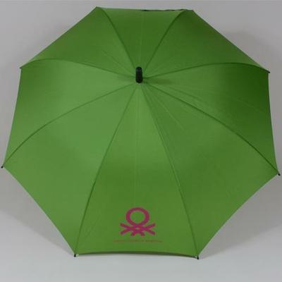 Parapluie grand diamètre vert Benetton