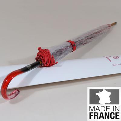 Parapluie de mariée L'invisible rouge