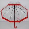 parapluie cloche rouge 2