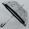 parapluie transparent noir 3