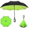 Parapluie inversé vert léger