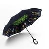 Parapluie inversé personnages profil