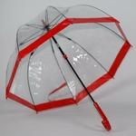 parapluie cloche rouge 1