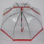 parapluie cloche rouge 3
