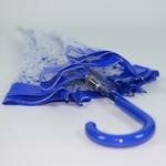 parapluie cloche bleu 3