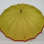 parapluie résistant femme holi jaune 4