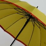 parapluie résistant femme holi jaune 5