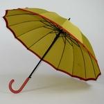 parapluie résistant femme holi jaune