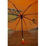 Parapluie Hibou orange intérieur