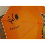 Parapluie Hibou orange zoom 2