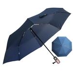 Parapluie pliant de qualité bleu profil