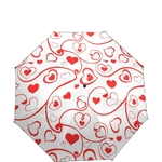 Parapluie pliant coeur haut