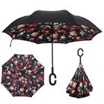 Parapluie inversé lily rose
