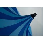 parapluie damazoni bleu sommet