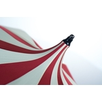parapluie damazoni rouge sommet