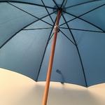 Parapluie bleu horizon