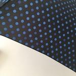 Parapluie pliant fultec bleu 2
