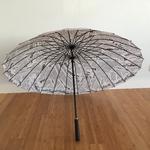 Parapluie 24 baleines journal dessous