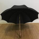 parapluie en chataignier de face