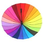 Parapluie coloré à 24 baleines - Vue armature