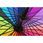 Parapluie coloré à 24 baleines - Zoom armature