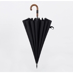 Parapluie haute résistance replié