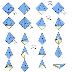 Origami parapluie