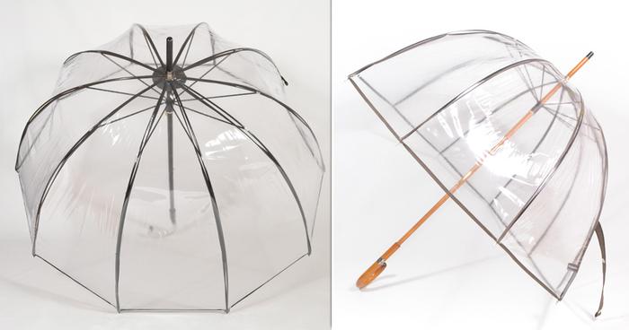 nouveau concept afa1e 2cf1f Le parapluie transparent cloche Français