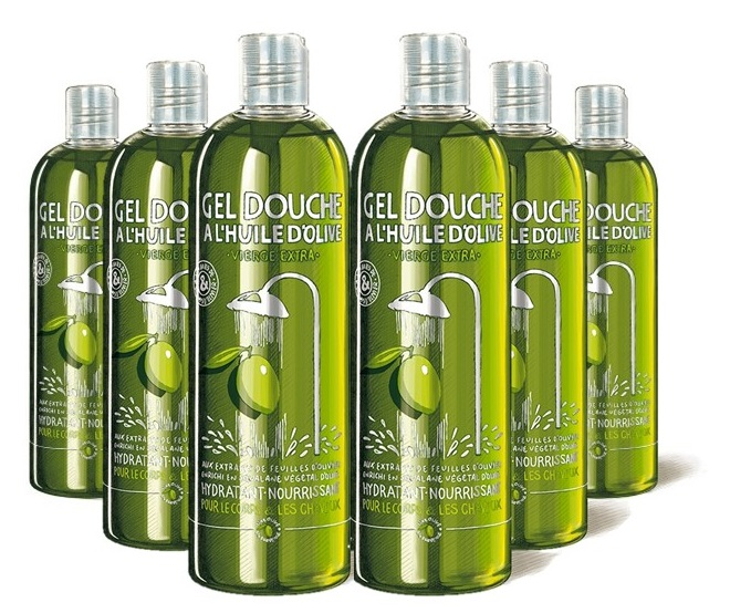 Gel douche une Olive en Provence - Lot de 6
