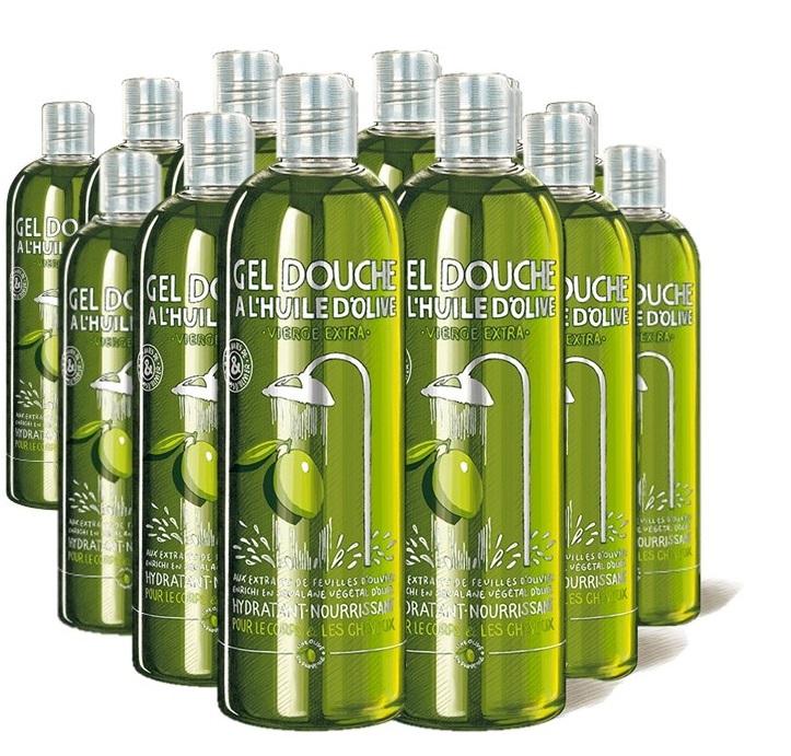 Gel douche une Olive en Provence - Lot de 12