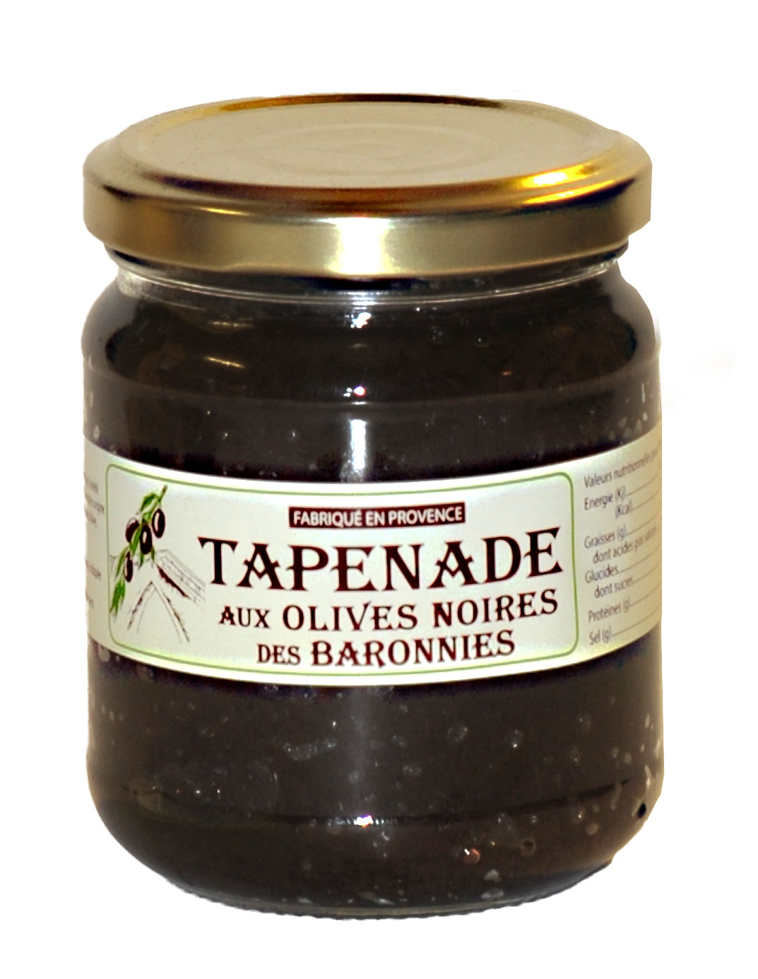 LOT DE 4 TAPENADES 180GR