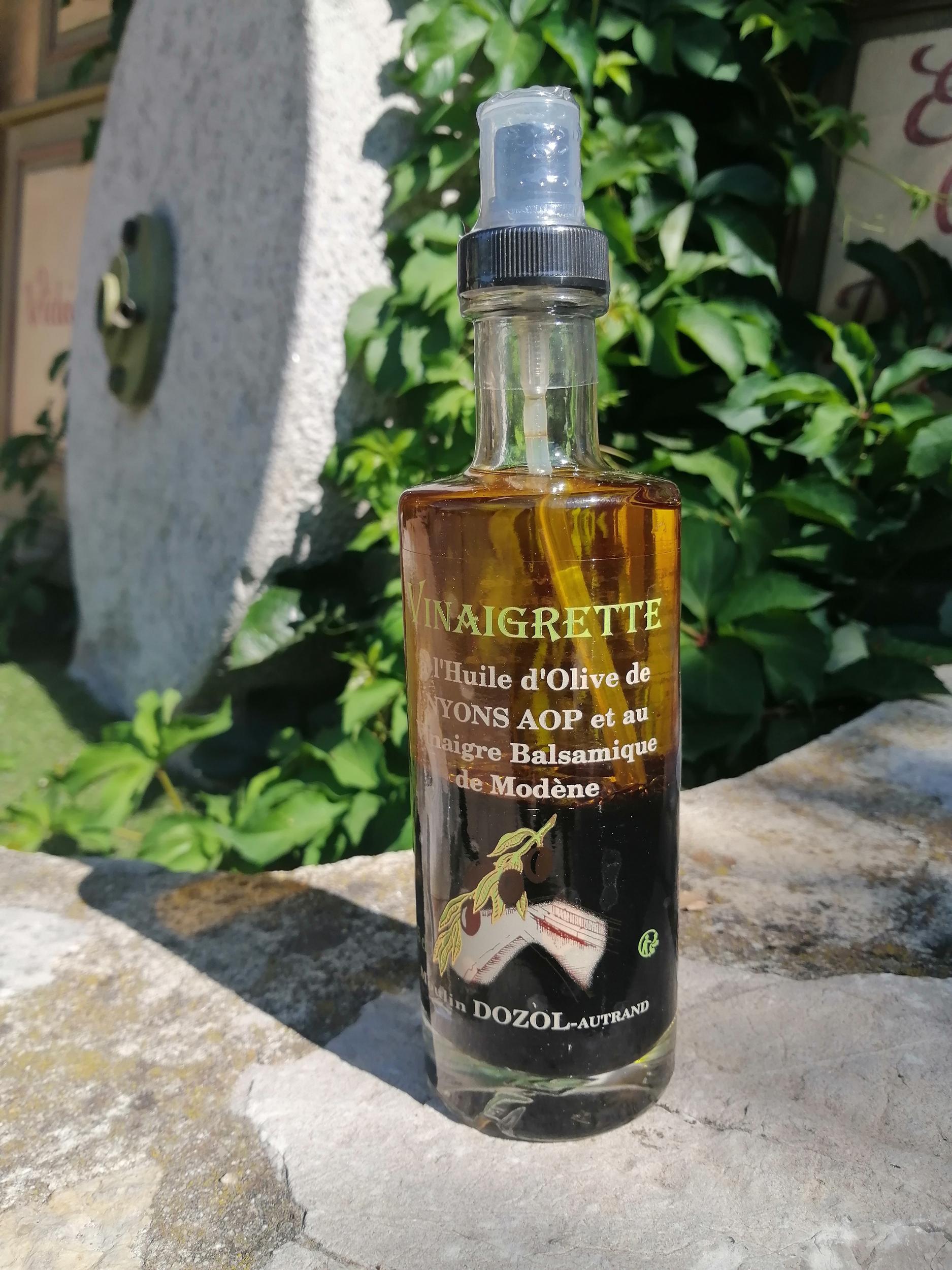 Vinaigrette à l\'huile d\'olive de Nyons et au vinaigre balsamique de Modène