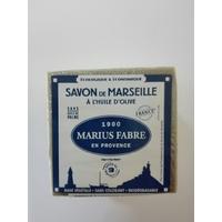SAVON DE MARSEILLE A L'HUILE D'OLIVE CUBE DE 400G