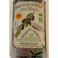 HUILE D'OLIVE DE NYONS AOP BIO - BIDON 1 L