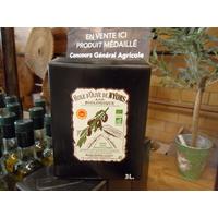 Huile d'olive de Nyons AOP Biologique 3L
