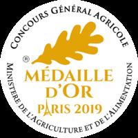 Medaille Or 2019 RVB