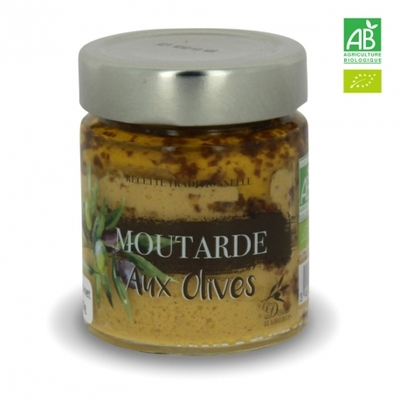 MOUTARDE AUX OLIVES BIO - PROMOTION