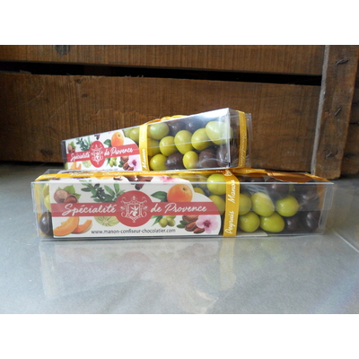 Boîte d'olives feuilletées au Chocolat 220 g