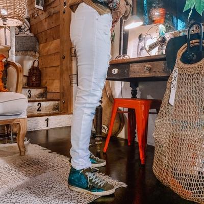 Jeans Molly blanc coté