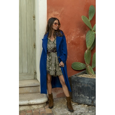 Manteau Barcelone bleu