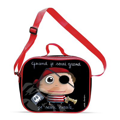 Lunch bag garçon : Quand je serai grand, je serai pirate