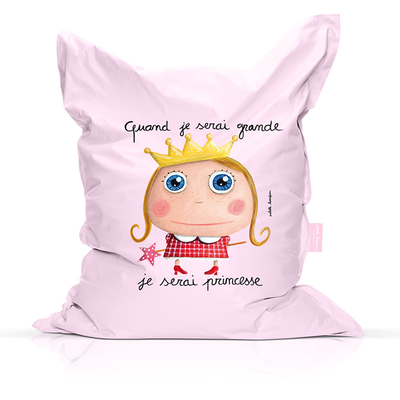 Bean bag Princesse