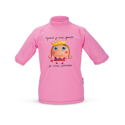 Tee-shirt anti-UV Princesse