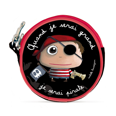 Porte Monnaie Pirate