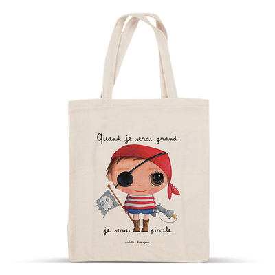 Tote bag pirate